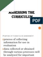 Assessing Curriculum