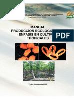 Produccion Ecologica CultivosTropicales