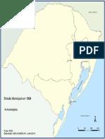 Divisão Municipal RS 1809