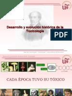 1_Desarrollo y Evolucion historica de la Toxicologia US.ppt