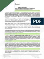 Bases de Postulación - Ecuador 2018