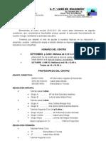 CIRCULAR INICIO DE CURSO 2010-2011