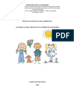 Proyecto Educación Ambiental 2014