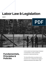 Labor Law & Legislation Week 1