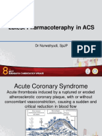 1. Dr. Nurwahyudi - Latest Pharmacotherapy in ACS