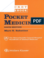 Pocket Medicine the Massachusetts General Hospital Handbook of Internal Medicine, 6th Edition