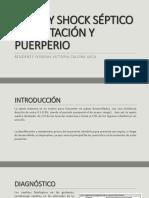 Sepsis y Shock Séptico en Gestación y Puerperio