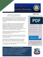 DCPU - CID Newsletter - April 2018