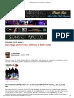 Sarcófago_ Pioneirismo, Polêmica e Death Metal