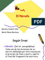 Parrafo, El