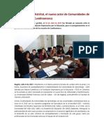 La Universidad Distrital, el nuevo actor de Comunidades de Aprendizaje en Cundinamarca
