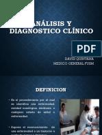 Analisis y Diagnostico Clinico