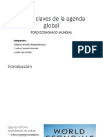 Temas Claves de La Agenda Global