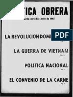 Política Obrera - Suplemento No4