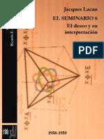 El Seminario 6. El deseo y su interpretación [Versión crítica].pdf