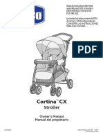 Chicco Cortina CX Stroller Manual