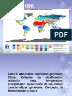 Clima y Atmósfera