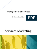 Management of Services -II