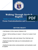 Walkthrough Module 4 English g9