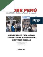 Guia de Apoyo Para Llevar Adelante Un Investigacion Cientifica Escolar Globe 2014 (1)