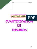 Cuantificacion de Materiales de Construccion