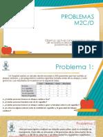 Ejercicios de Problemas M2