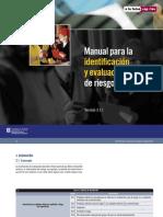 4. Manual Para La Identificación y Evaluación de Riesgos Laborales