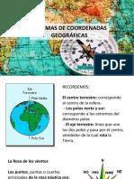Ppt 1 Sistemas de Coordenadas Geográficas