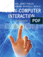 Cover Human Computer Interaction