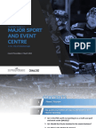 Feasibility study for a major sport and event centre for Peterborough