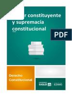 M1 Poder Constituyente y Supremacía Constitucional