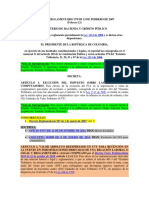 Decreto 379 de 2007