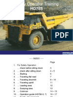 Safety Operator Training HD785-20120910