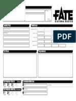 Fate Básico - Ficha de Personagem