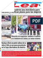 Periódico Lea Miércoles 04 de Abril Del 2018