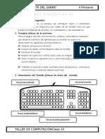 3.- 4 Primaria - Mecanografía