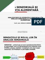 Analizatori Si Atribute Senzoriale