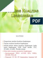 SESI 1&2 Analisis Kualitas Lingkungan