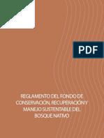 Reglamento Fondo Conservacion