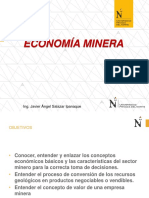 Economia Minera Clase i
