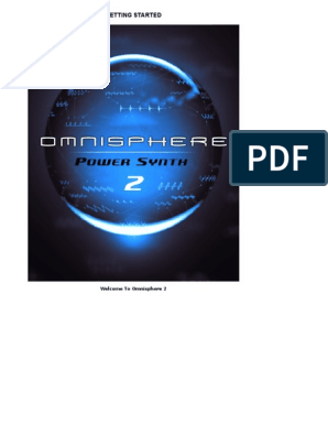 Omnisphere2 Reference Guide v240 | Installation (Computer Programs