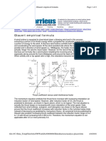 Darrieus wind turbine - Glauert Empirical Formula