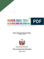 Preliminar PDM Nemocón 1