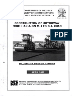 Pavement Design Report