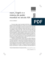 A Questão Do Poder Em Marx e Engels