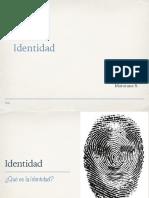 Clase Adolescencia Identidad 2018