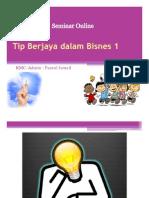 Tip Berjaya dalam Bisnes
