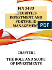 FIN3483_Chapter 1_The Role and Scope of Investment