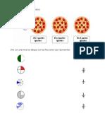 Divide Las Pizzas Como Se Te Indica