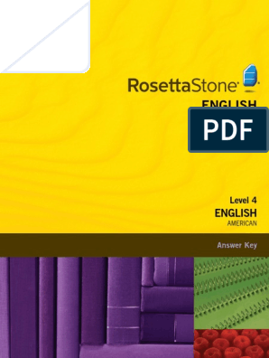 rosetta stone english level 4 and 5 free download